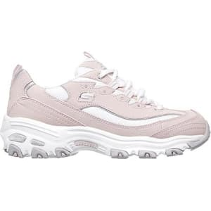 skechers memory foam pink