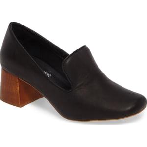 8efc8547d32 Women s Jeffrey Campbell Lister Flared Heel Loafer Pump