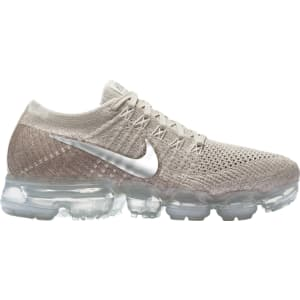 online retailer 7a580 e2221 Womens Nike Air Vapormax Flyknit - String/Chrome/Grey