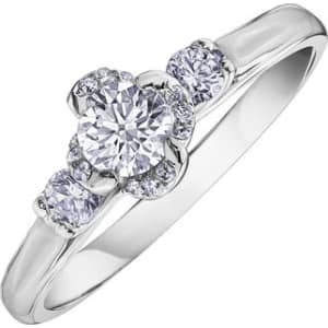 a5975af60919e Maple Leaf Diamonds Wind s Embrace 18ct White Gold Diamond Ring from ...