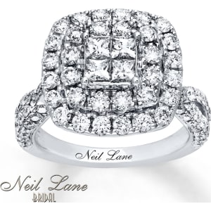 a2d0b5d0e Neil Lane Engagement Ring 2-7/8 Ct Tw Diamonds 14k White Gold from ...
