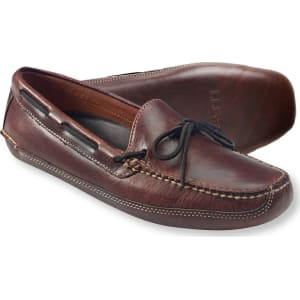 f205a6402d8a0 Men's Leather Double-Sole Slippers, Leather-Lined from LL Bean.