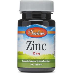 Zinc 15 Mg - 100 Tablets - Carlson(r) - Zinc from GNC.