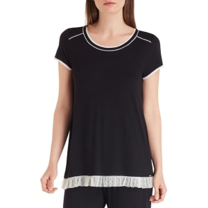 6abefd68409 Kensie Jersey   Ruffled Mesh Sleep Top from Dillard s.