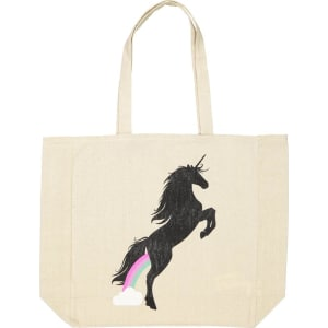 Foundation Typo Difference Tote Bag Farting Unicorns From Cotton On