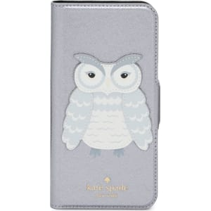 pretty nice df344 94e61 Kate Spade New York Owl Iphone 7/8 Folio Case