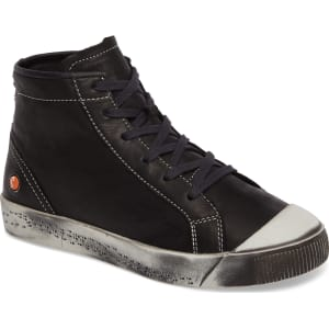 Softinos by FLY London Leather High Top Sneakers - Kip