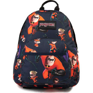 6732f6a7599 Jansport X Disney Half Pint Incredibles Family Time Backpack from ...