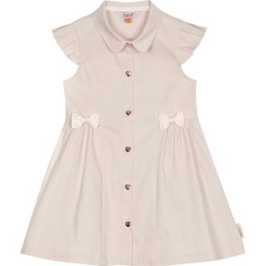 e546a3ec43d240 Baker by Ted Baker - Girls  Light Pink Shirt Dress from Debenhams.
