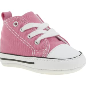 7d2c05857830 Converse Pink 1st Star Crib Shoes Baby from schuh.