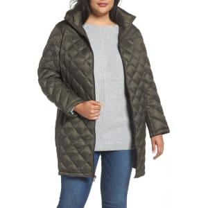 9e1b7b045 Plus Size Women's Michael Michael Kors Packable Down Jacket, Size 3X - Green