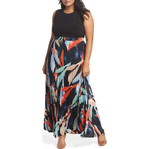 Mock Two-Piece Maxi Dress (Plus Size) from Nordstrom Rack.