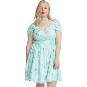 Disney The Little Mermaid Ariel Green Princess Dress Plus Size from ...