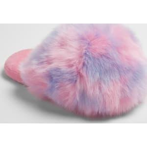 cb25030d3a01 Women s Noley Unicorn Puff Slippers - Xhilaration Pink S(5-6)