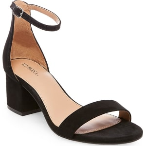 e7f3558785e Women s Marcella Low Block Heel Pumps With Ankle Straps - Merona ...