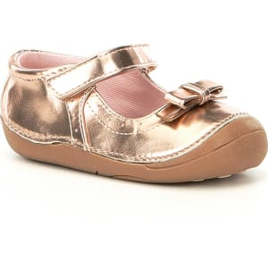 c449f56e648a87 Sole Play Girls  Gracelyn Metallic Bow Detail Mary Jane Shoes from Dillard s .