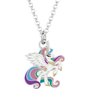 My little pony celestia unicorn pendant necklace from boscovs my little pony celestia unicorn pendant necklace aloadofball Gallery