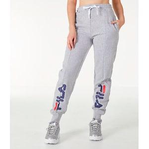 5d72e5dd56a9c Fila Women's Alessia Reconstructed Fleece Jogger Sweatpants, Grey