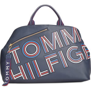 04fc4a7ec8200c Tommy Hilfiger Adari Coated Twill Logo Tote, Created for Macy's from ...