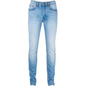 aa9c6b9af05 Mens Light Wash Super Skinny Jeans, Light Wash from Burton.