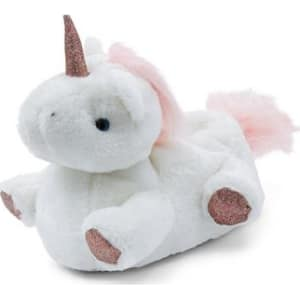 f48275e46e1b White Unicorn Slippers New Look from New Look.