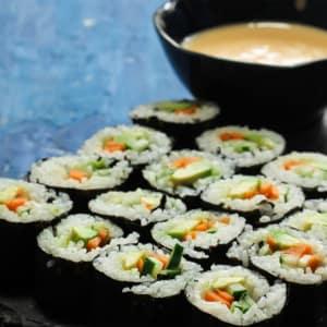 Vegan Sushi Cooking Masterclass