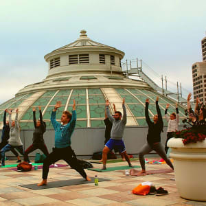 PRIDE Rooftop Yoga