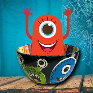 Homeschool Social: Monster Mash Snack Bowl