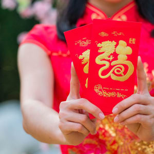 Lunar New Year Red Envelop Coloring