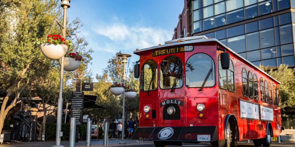 Westfield Topanga Trolley Service
