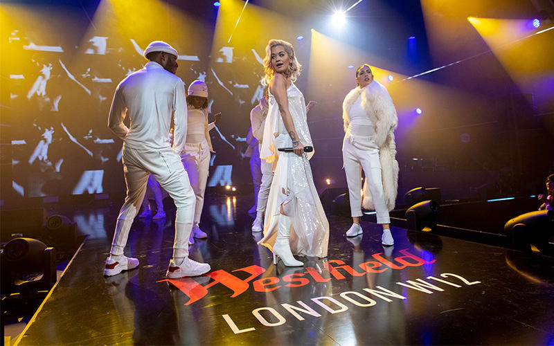 Rita Ora, Liam Payne and Rudimental perform at Westfield London's 10th anniversary party
