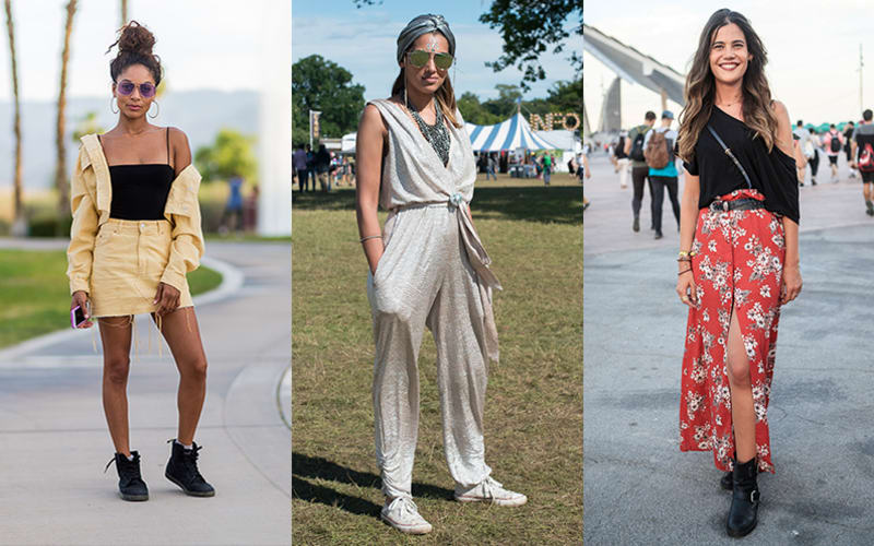 8 Cool-Girl Music Festival Outfits to Copy This Year