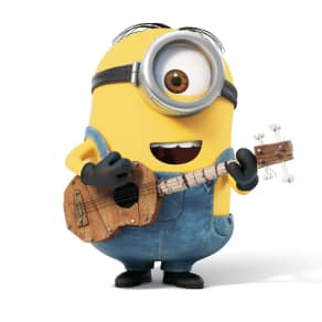 Stuart the Minion Visits for a Minion Story Time with Learning Express