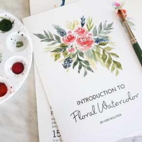 Introduction to Floral Watercolor