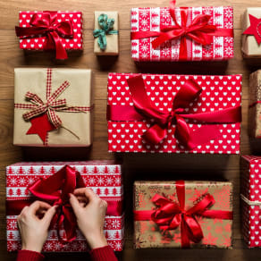 Girl Scouts Gift Wrapping