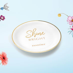 Spend $150 in Pandora SHINE and Receive a Free Ring Dish
