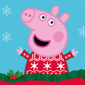 Peppa Pig Bing Bong Disco for Christmas Jumper Day