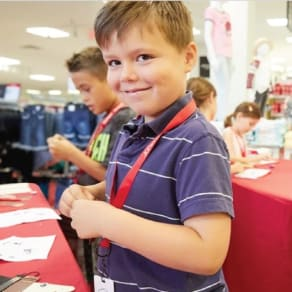 JCPenney Kids Zone Frozen 2 Event