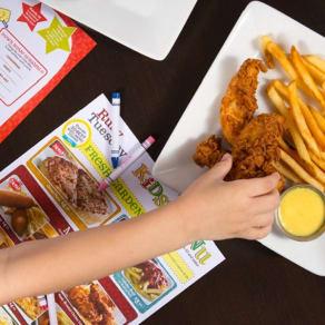 Kids Eat FREE Every Tuesday