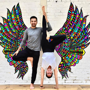 Om and Ah Yoga