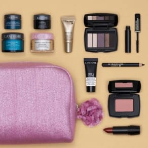 7-Piece Lancôme Gift With Purchase of $37.50 or More. Spend $75 and receive a step-up bonus!