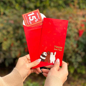 Miniso Red Envelopes for Lunar New Year