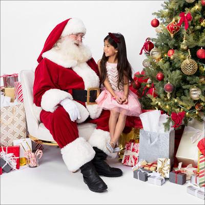 Garden State Plaza Santa Claus