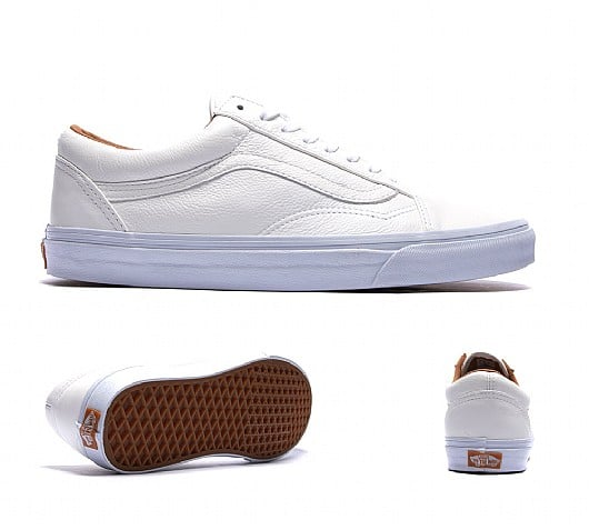 Old Skool Premium Leather Vans - JD Sports, £60