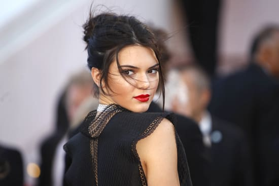Kendall Jenner at the screening of the film Youth in Cannes, (AP Photo/Lionel Cironneau)