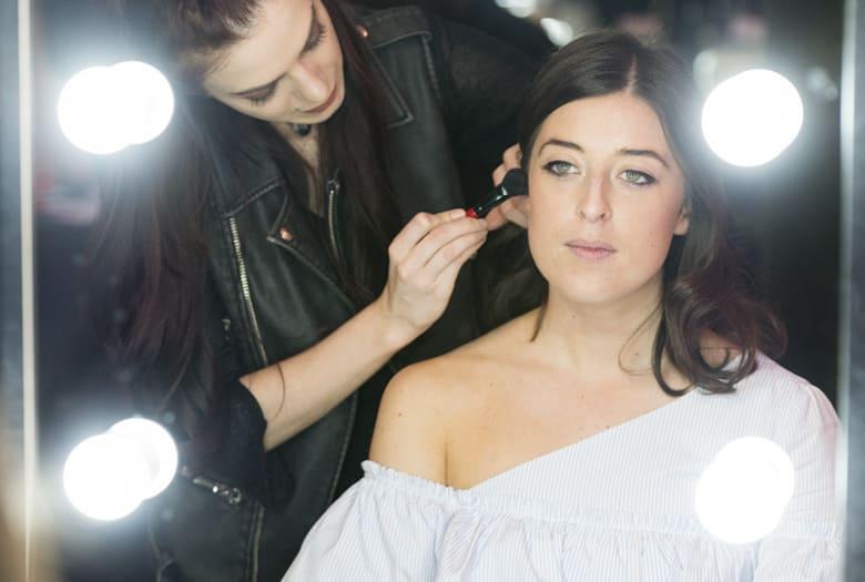 makeover makeup blush bronzer