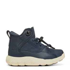 Timberland Flyroam™ High Top Sneaker For Toddlers In Navy Navy Kids, Size 10