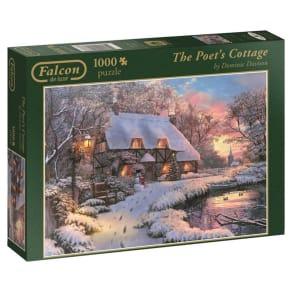 Jumbo - Falcon De Luxe Poets Cottage 1000 Piece Jigsaw Puzzle