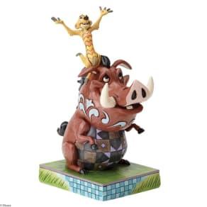 Disney Traditions Carefree Cohorts Figurine