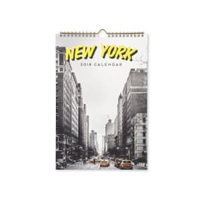 Typo - 2018 Get A Date Calendar - New york